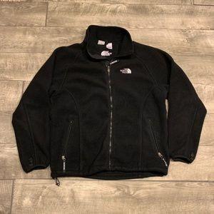 North Face Fleece Womens Jacket Sz Large